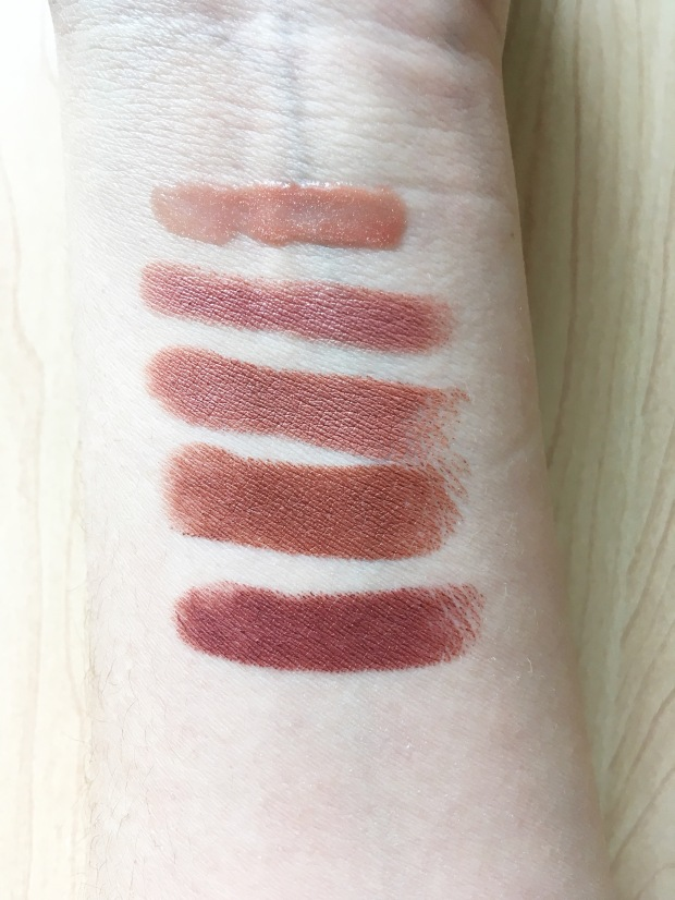 BEST OF BEAUTY 2017 LIPSTICK SWATCHES