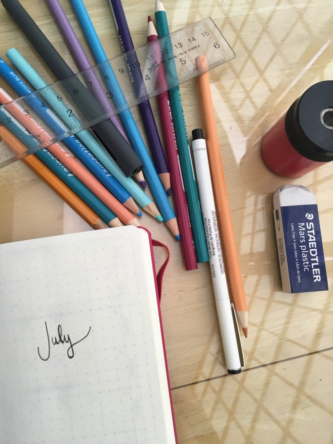 July_BulletJournal_Setup